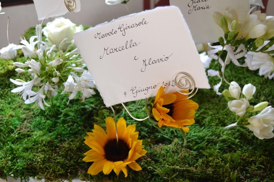 matrimoni religiosi - matrimonio a tema girasoli
