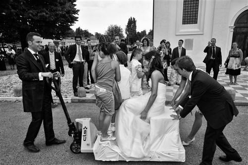 scherzi agli sposi - matrimonio in verde