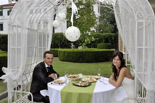 tavolo sposi in verde - matrimonio in verde