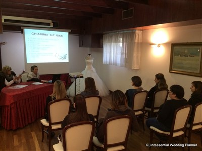 workshop per aspiranti wedding planner a padova e venezia