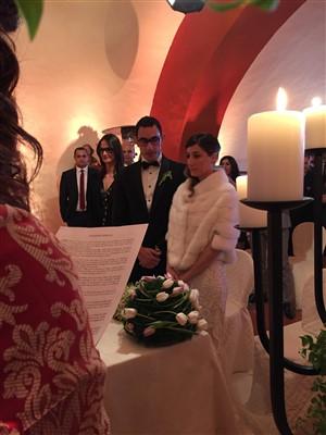sposi - matrimonio tema carnevale veneziano