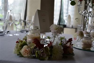 centro tavola per matrimonio a tema danza