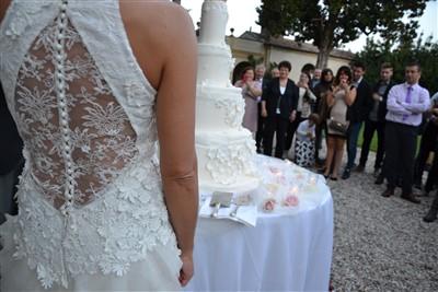 dettaglio abito sposa - matrimonio a tema danza