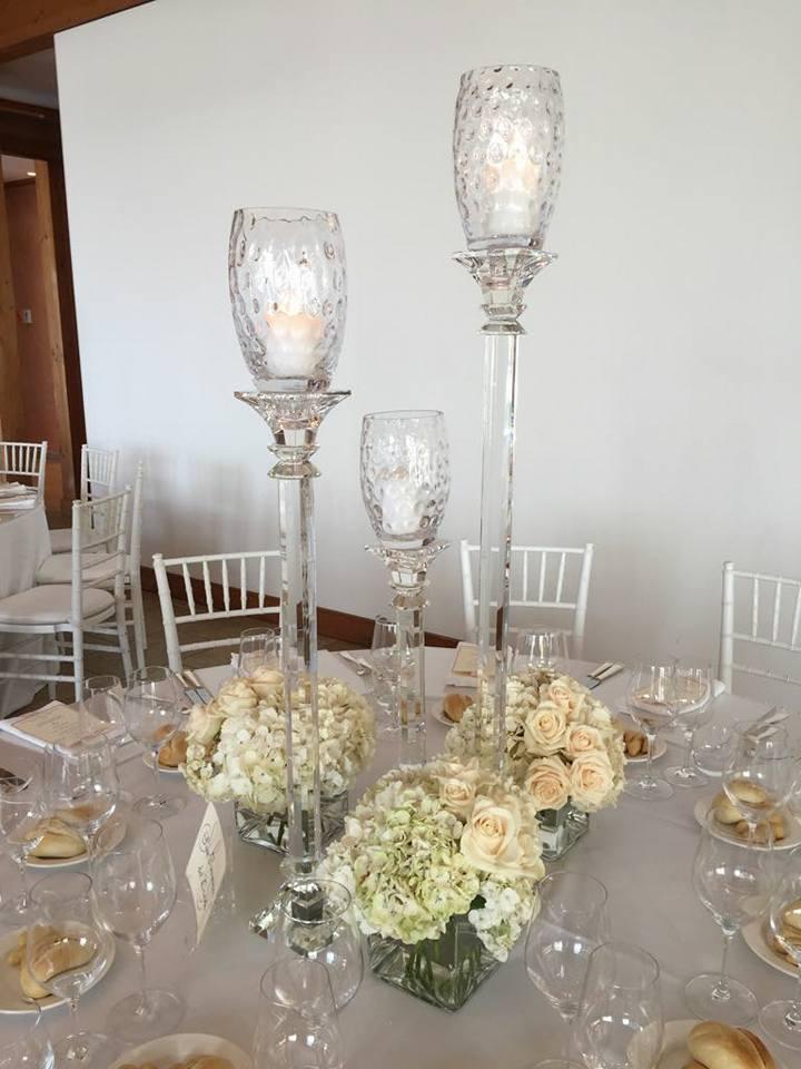 centro tavola per matrimonio veneziano
