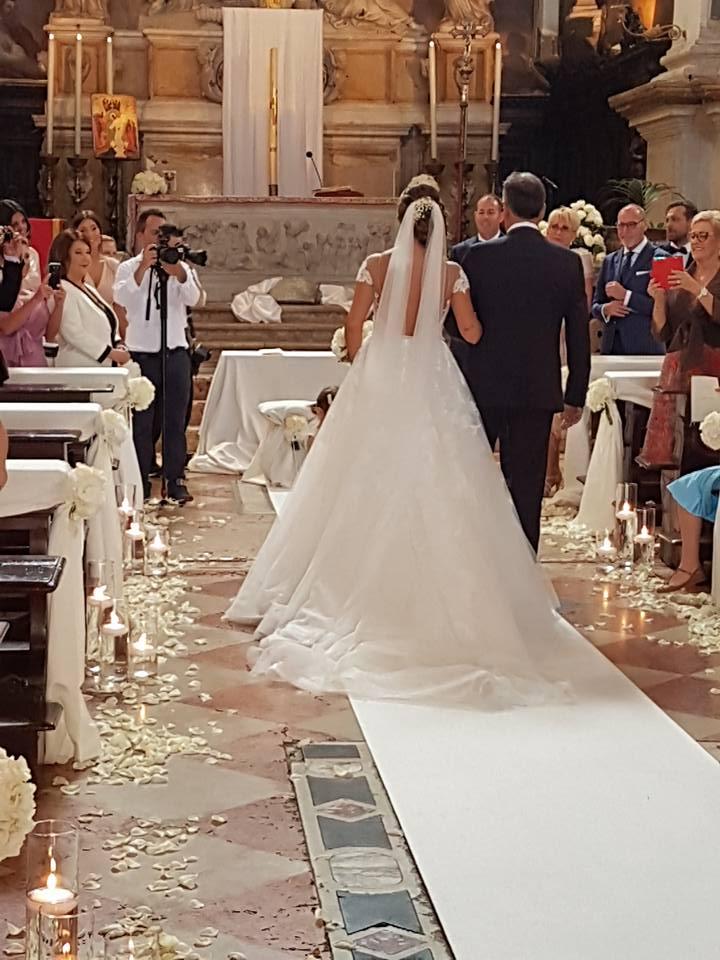 arrivo della sposa - matrimonio veneziano