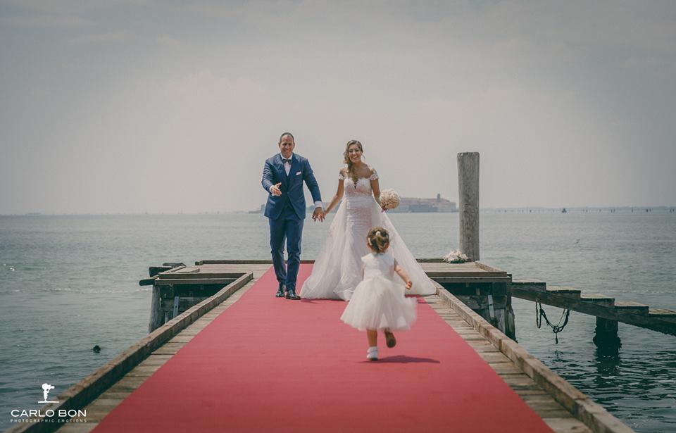arrivo sposi - matrimonio veneziano