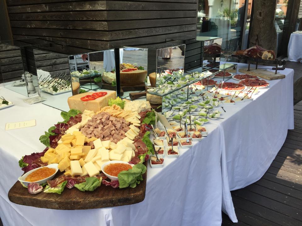 buffet per matrimonio veneziano