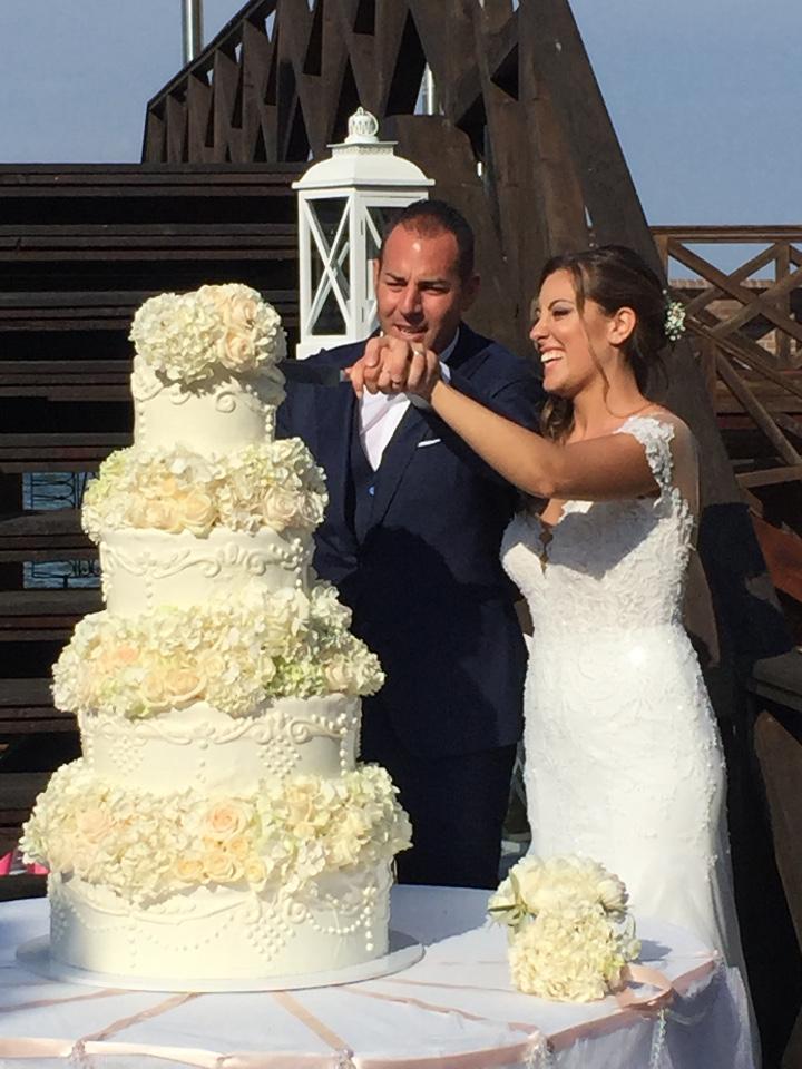 taglio torta - matrimonio veneziano