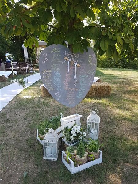 decorazioni con lanterne per matrimonio in agriturismo