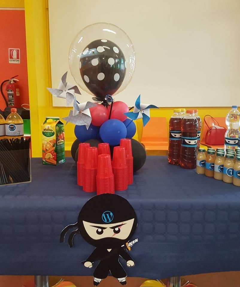 Compleanno a Tema Ninja